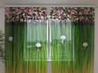 Sifonki-kuvaverho FLOWER LAMBREQUINS HARMONY 240x220 cm ED-100130