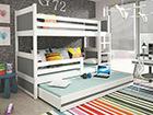 Lasten sänkyryhmä 3-lle, 80x160 cm TF-100254