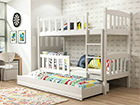 Lasten sänkyryhmä 3-le 80x190 cm