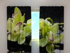 Pimentävä verho CITREOUS ORCHIDS 240x220 cm ED-100492