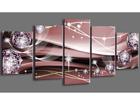 Viisiosainen seinätaulu ABSTRAKT 200x100 cm ED-101090