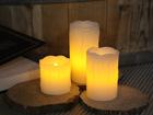 Vahakynttilät LED, 3 kpl AA-101286
