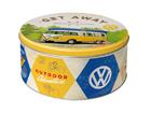 Peltipurkki VW BULLI LET´S GET AWAY 3,3L SG-103122