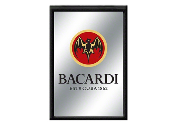 RETRO mainospeili BACARDI 30x20 cm SG-103158