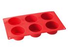 Muffinssimuotti silikonista 6 kupilla