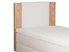 Sängynpääty STANDARD tammiviilutetulla reunalla 120x113x10 cm FR-105810