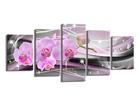 Viisiosainen seinätaulu ORCHID 200x100 cm ED-106073