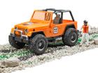 Jeep kilpa-auto 1:16 BRUDER KL-107108