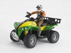 ATV+kuljettaja 1:16 BRUDER KL-107203