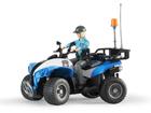 Poliisi ATV+hahmo 1:16 BRUDER KL-107204