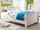 Sänky+vuodevaatelaatikko MALTA 100x200 cm