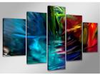 Viisiosainen seinätaulu ABSTRACKT 200x100 cm ED-107318
