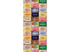 Fleece-kuvatapetti LINCENSE PLATES 53x1000 cm ED-108129