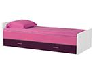 Sänky JESPER 90x200 cm + 1 vuodevaatelaatikko FY-108148