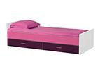 Sänky JESPER 90x200 cm+2 vuodevaatelaatikkoa FY-108170