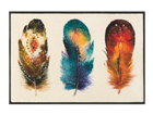 Matto FEATHERS 50x75 cm A5-108623
