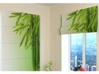 Pimentävä laskosverho GREEN BAMBOO 2 60x60 cm ED-108811
