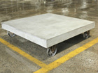 Sohvapöytä pyörillä CEMENT 80x80 cm AY-108958