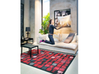 NARMA newWeave® chenillematto TELISE RED 140x200 cm NA-109685