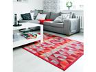 NARMA newWeave® chenillematto TRESKI RED 140x200 cm NA-109710