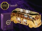 Koriste-esine Swarovski kristalleilla LINJA-AUTO MO-109838