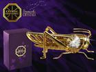 Koriste-esine Swarovski kristalleilla HEINÄSIRKKA MO-109857