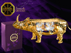 Koriste-esine Swarovski kristalleilla SARVIKUONO MO-109874