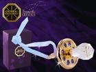 Kullattu koriste-esine kristalleilla pojalle MO-109893
