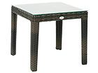 Apupöytä WICKER 50x50 cm EV-110222