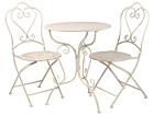 Ryhmä VALENCIA pöytä + 2 tuolia EI-110484