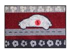 Matto ROAD TRIP 50x75 cm A5-110896