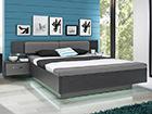 Sänky 160x200 cm+2 yöpöytää TF-112286