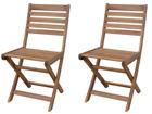 Kokoontaitettava puutarhatuoli STRESA, 2 kpl SI-112308