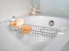 Jatkettava kylpyammehylly ET-112325