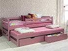 Lasten sänkysarja 2-osainen 80x180 cm TF-112873