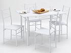 Ruokapöytä+4 tuolia CM-112949