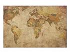 Seinätaulu puulevyllä WORLD MAP, 50x75 cm ED-113163