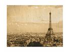 Seinätaulu puulevyllä I LOVE PARIS ED-113166