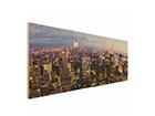 Seinätaulu puulevyllä NEW YORK SKYLINE ED-113185