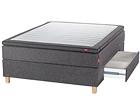 SLEEPWELL BLACK jenkkisänky vuodevaatelaatikolla 140x200 cm SW-113750