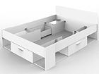 Jatkettava sänky 140x190/200 cm CM-114480