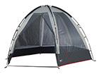 Teltta HIGH PEAK PAVILION SIERO vaaleanharmaa/tummanharmaa HU-114836
