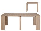 Seinäpöytä / jatkettava ruokapöytä HELENA 43-200x95 cm MA-114898