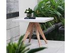 Pöytä SANDSTONE 90x90 cm EV-115732
