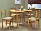 Ruokapöytä+4 tuolia LOTUS EV-115