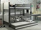 Lasten sänkyryhmä 3-le 80x190 cm TF-116049