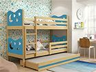 Lasten sänkyryhmä 3-le 80x160 cm TF-116084