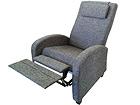 Nojatuoli jalkatukimekanismilla ESSEN TP-116537
