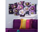 Viisiosainen seinätaulu FLOWER POWER 100x60 cm ED-116550