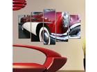 Viisiosainen seinätaulu OLD TIMER 100x60 cm ED-116557